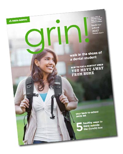 Grin Magazine cover